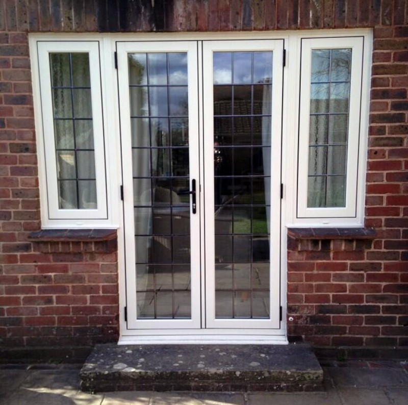 Whitford group r9 heritage range for French doors with sidelights